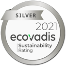 Silver 2021 Ecovadis - CSR Rating