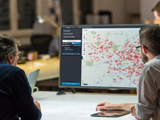 Cartographie et Data avec Datadrive